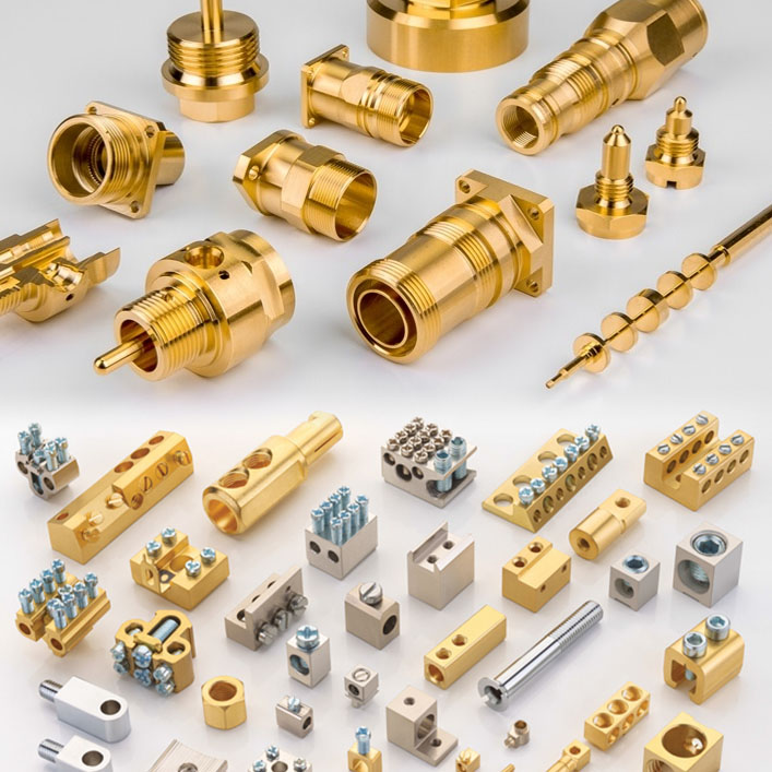 Brass Copper Turned Parts Supplier