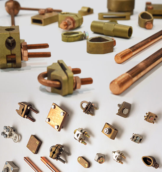 Copper Earthing, Copper Lugs, Copper Cable Ends