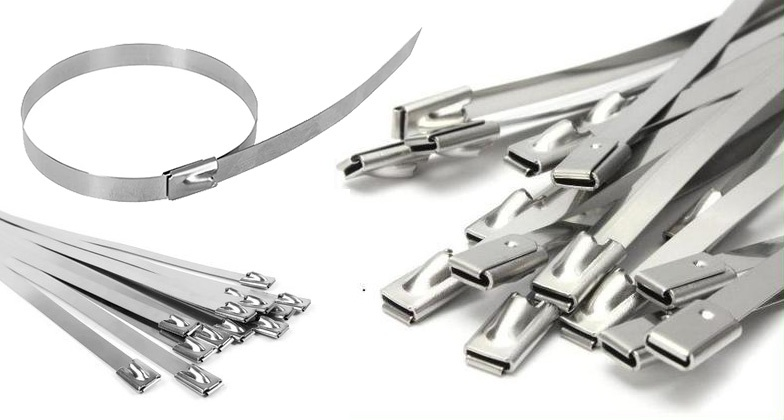 Stainless Steel Roller Ball Cable Ties Supplier
