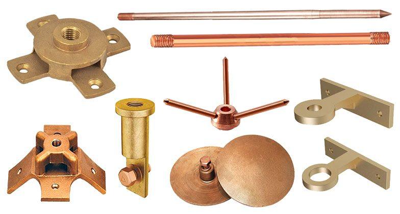 Flat Tape System & Rod Brackets, Lightning Arrestors Manufacturer